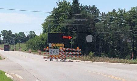 Stiles Road Closure