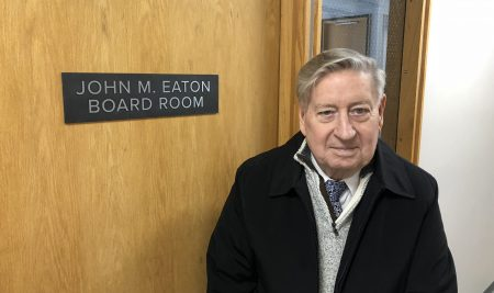 Dr. John M. Eaton Remembered as a Model of Honor, Duty, and Dedication