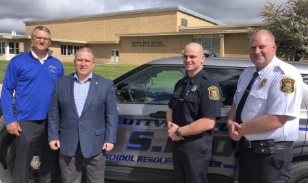 Police Academy Graduate Serves a Unique Partnership
