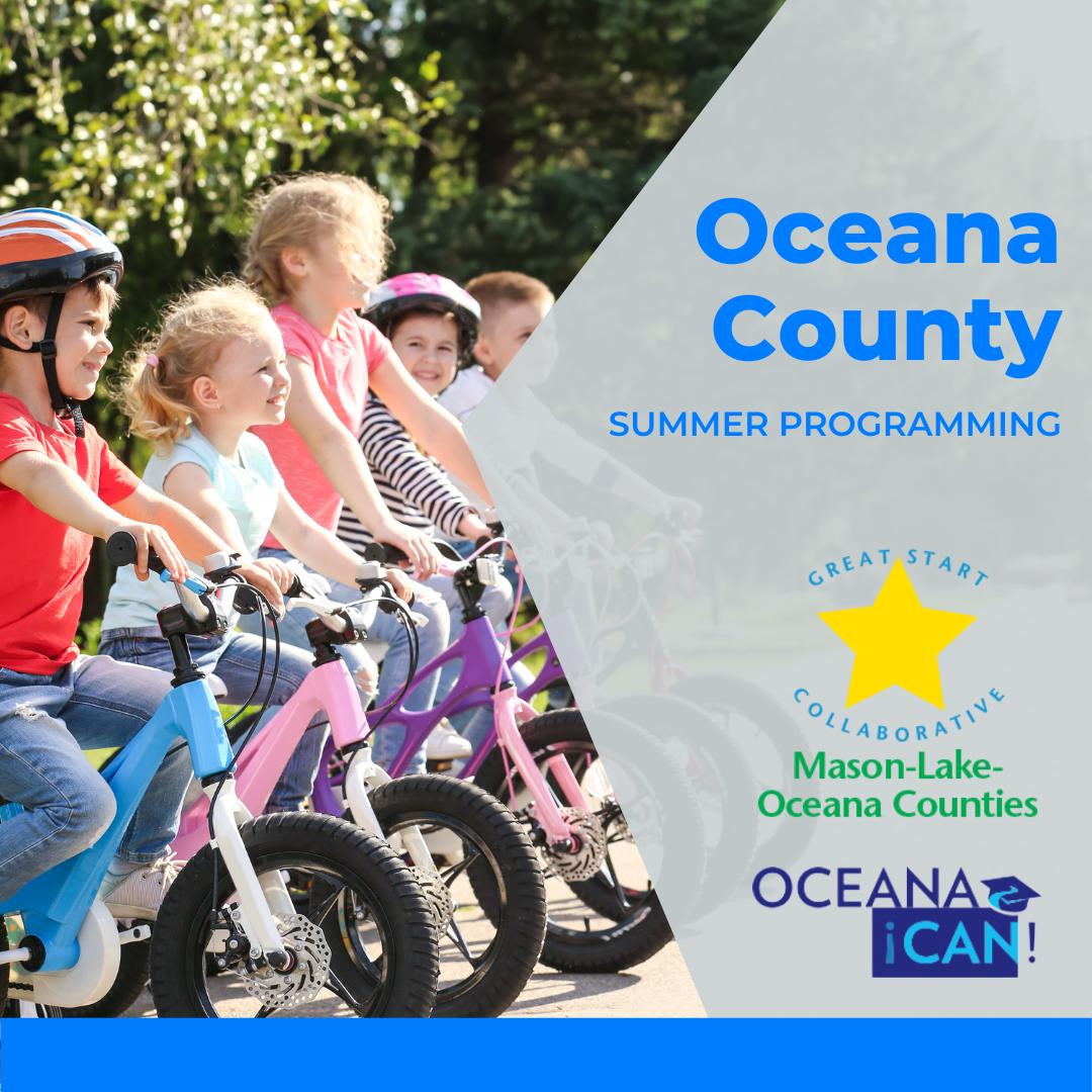 Link to Oceana County Summer Programming