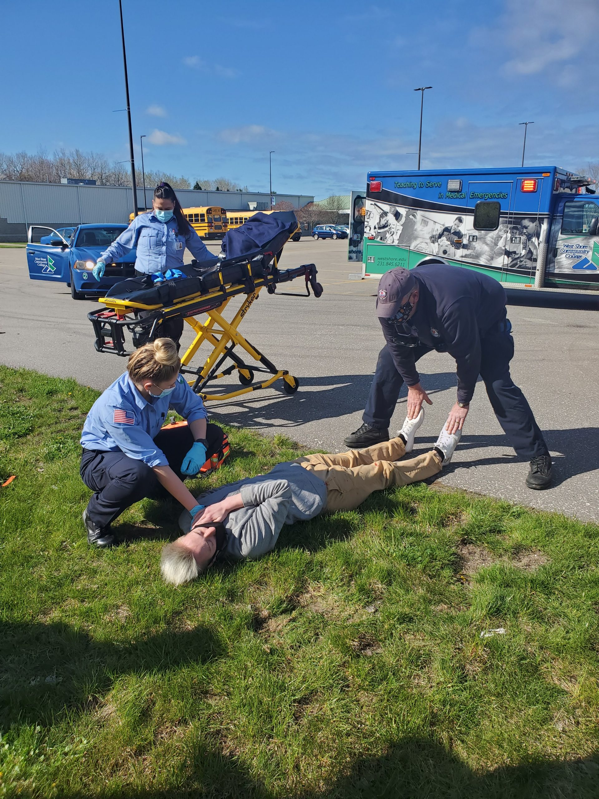 Public Safety Training Scenario News Story